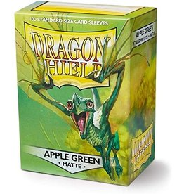 Dragon Shield Dragon Shield Matte Apple Green 100ct