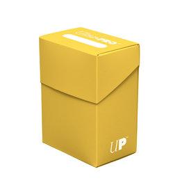 Ultra Pro Ultra Pro Deck Box Solid Yellow 80ct