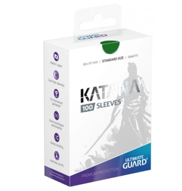 Ultimate Guard Ultimate Guard Katana Sleeves Green 100ct