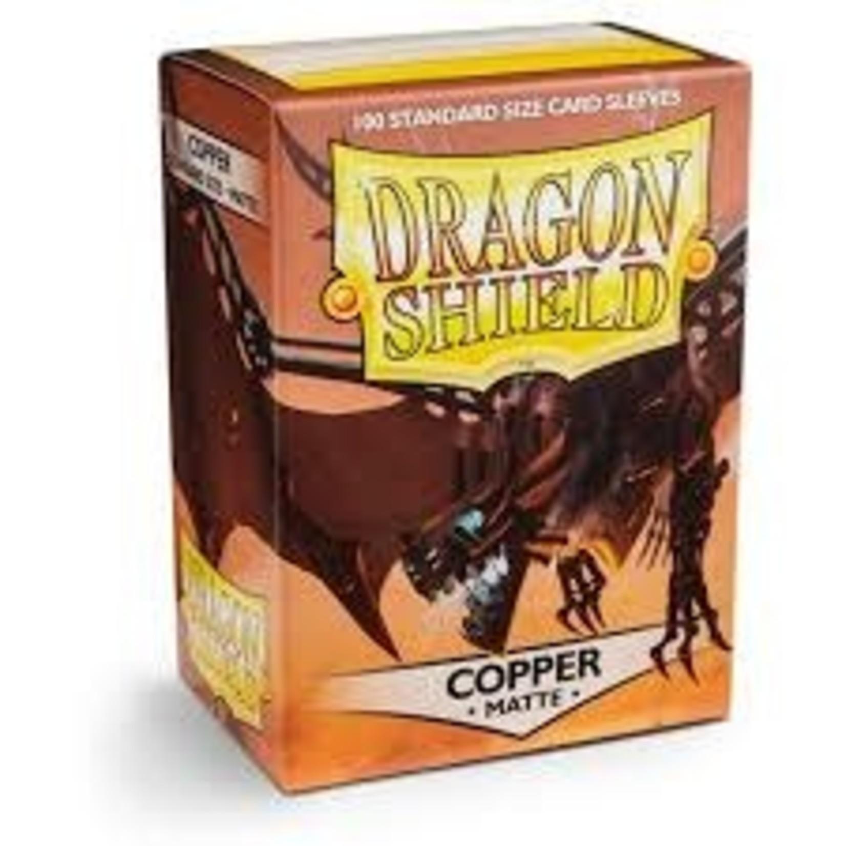 Dragon Shield Dragon Shield Matte Copper 100ct