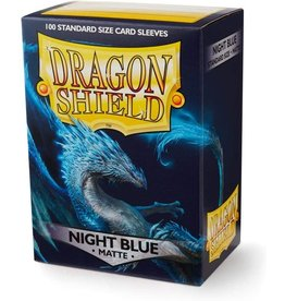 Dragon Shield Dragon Shield Matte Night Blue 100ct