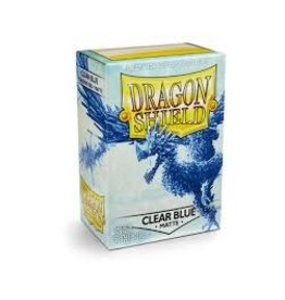 Dragon Shield Dragon Shield Matte Clear Blue 100ct