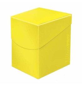 Ultra Pro Ultra Pro Eclipse Deck Box Lemon Yellow 100ct