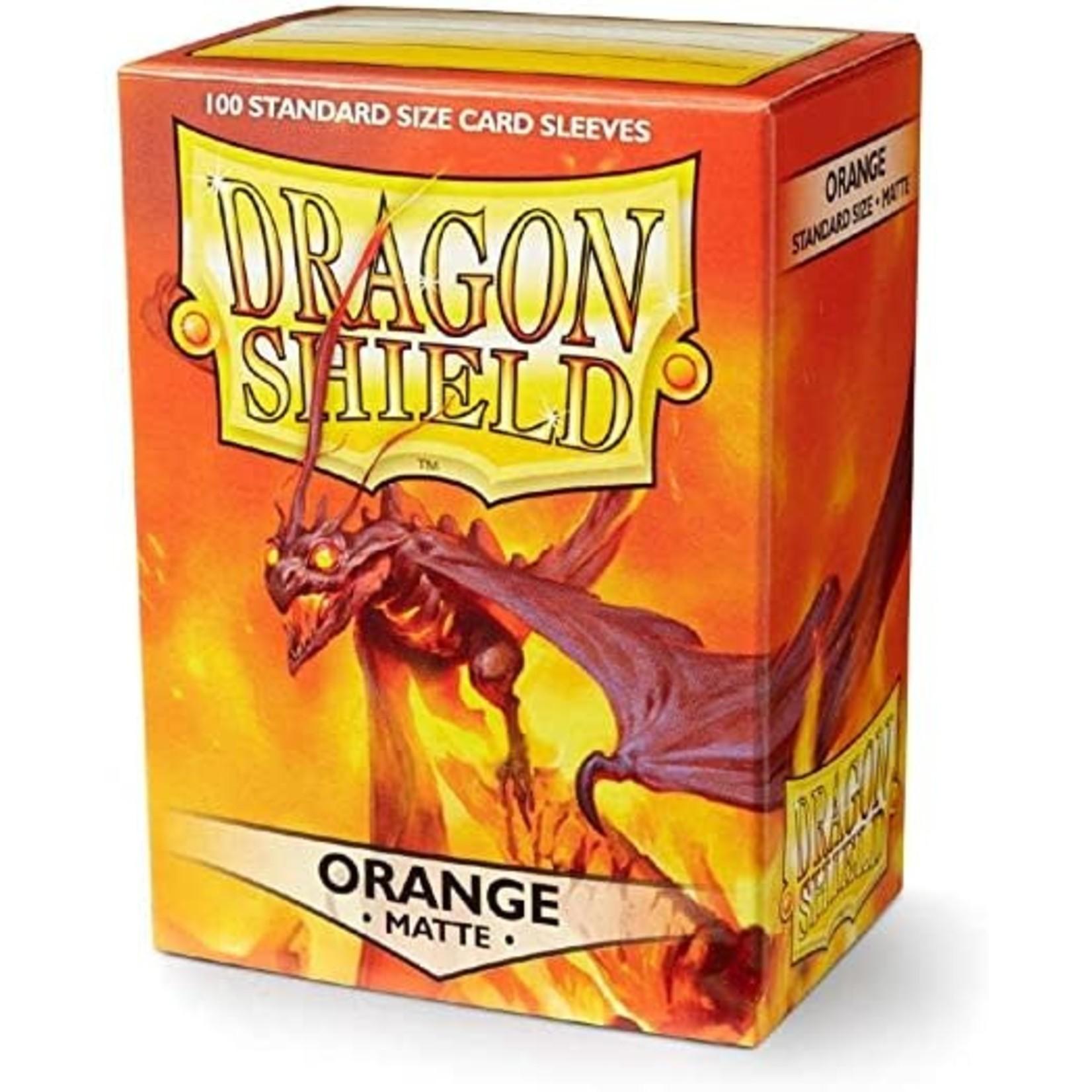 Dragon Shield Dragon Shield Matte Orange 100ct
