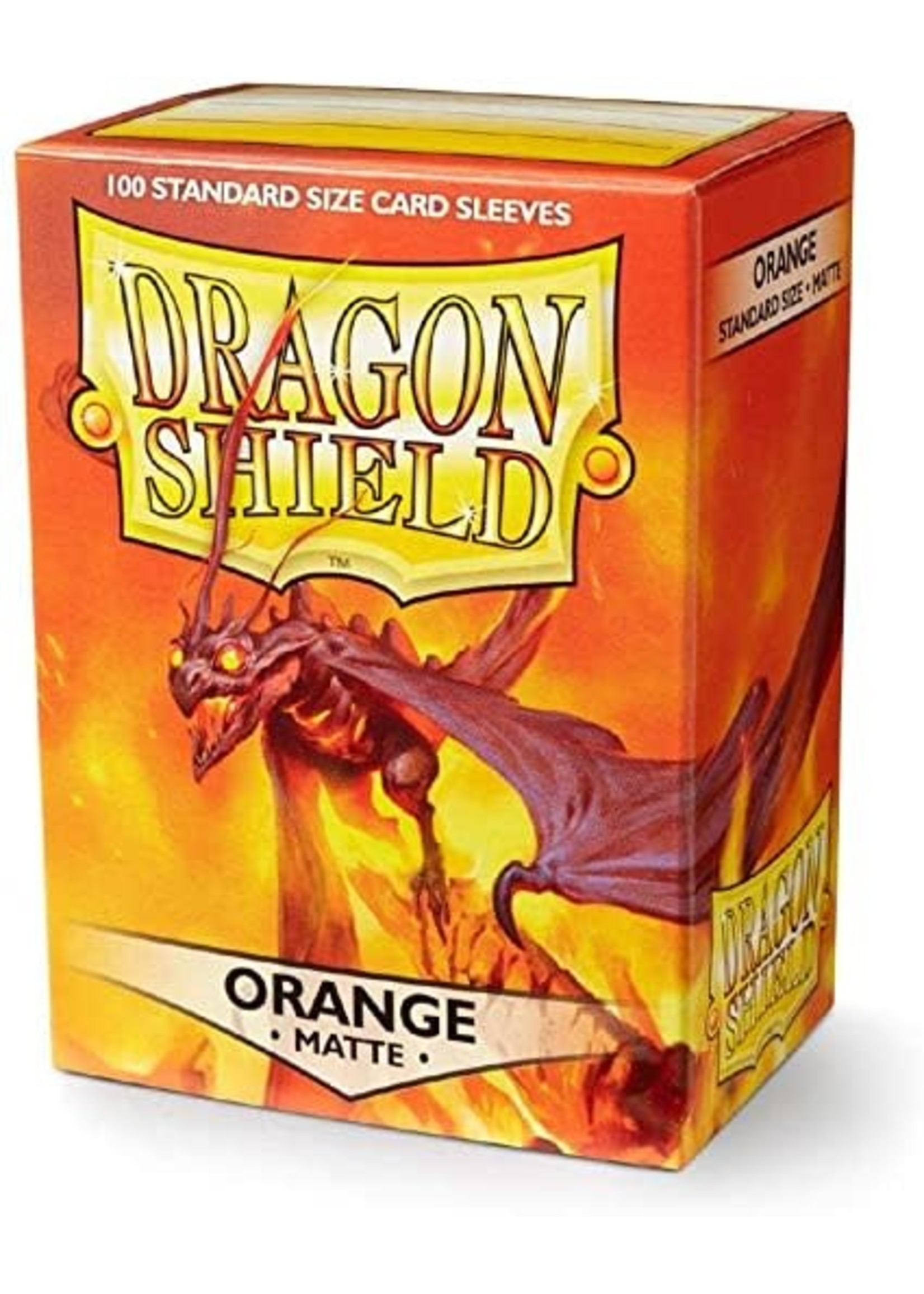 Dragon Shield Dragon Shield Matte Orange 100ct