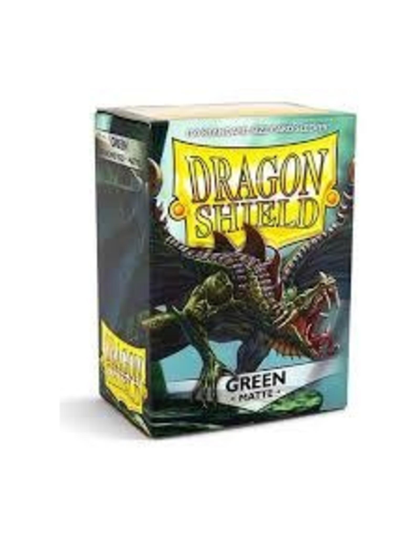 Dragon Shield Dragon Shield Matte Green 100ct