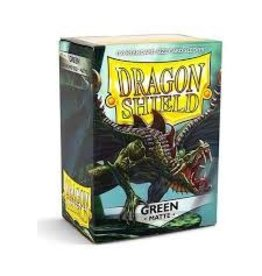 Dragon Shield Dragon Shield Matte Green 100ct