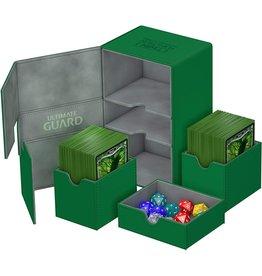 Ultimate Guard Ultimate Guard Twin Flip'n'Tray Green 200ct