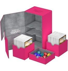 Ultimate Guard Ultimate Guard Twin Flip'n'Tray Pink 200ct