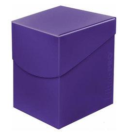 Ultra Pro Ultra Pro Eclipse Deck Box Royal Purple 100ct