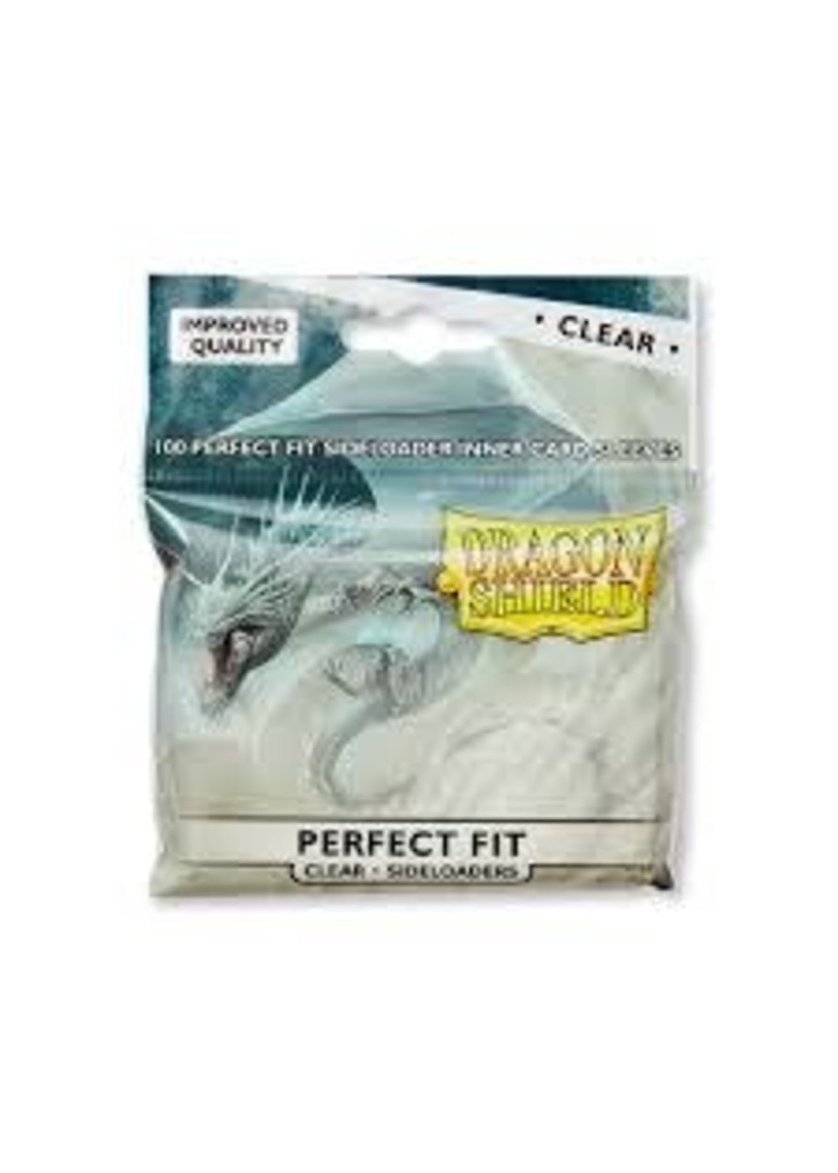 Dragon Shield Perfect Fit Clear Side-loading 100ct
