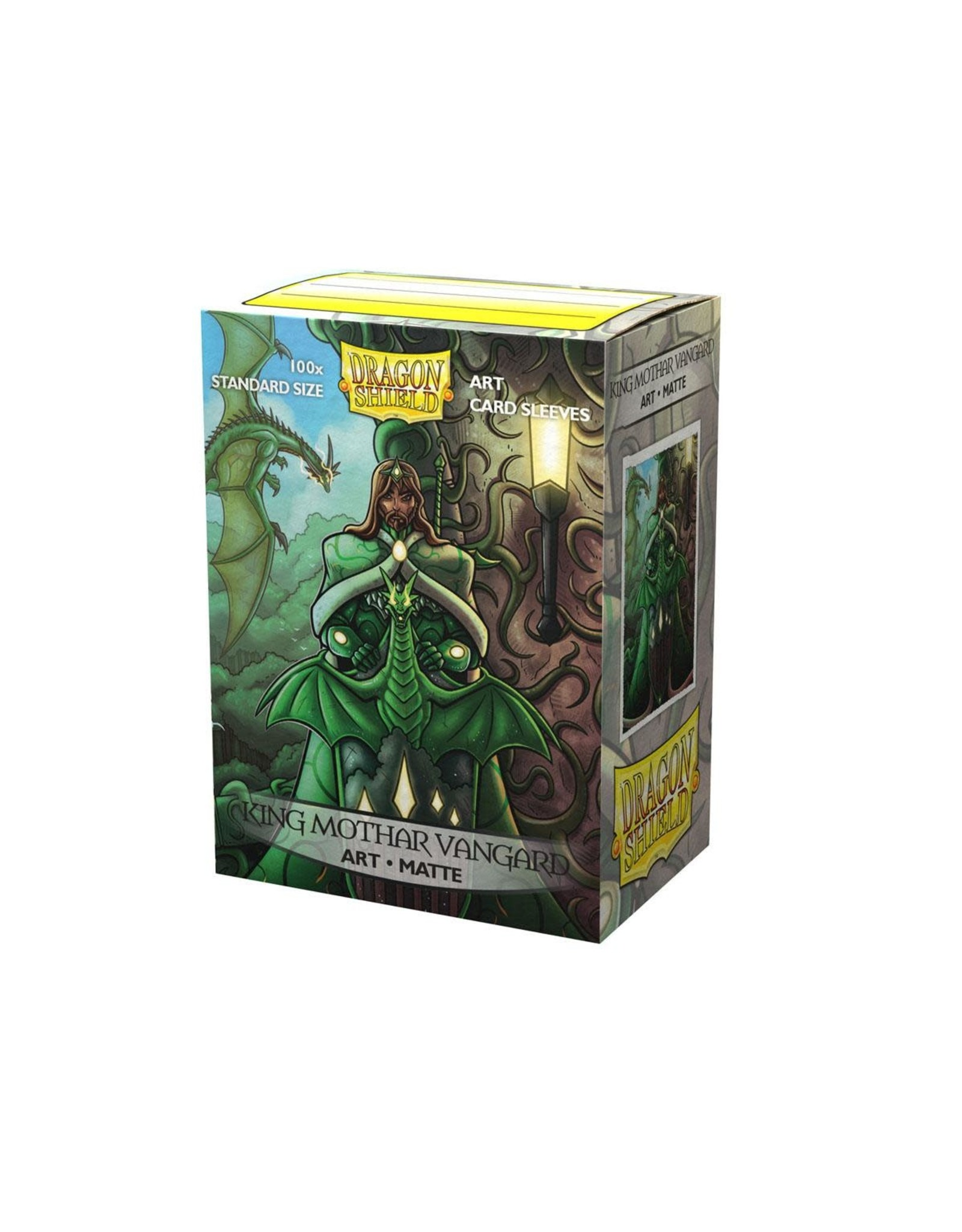 Dragon Shield Dragon Shield Art  King Mothar Vanguard 100ct