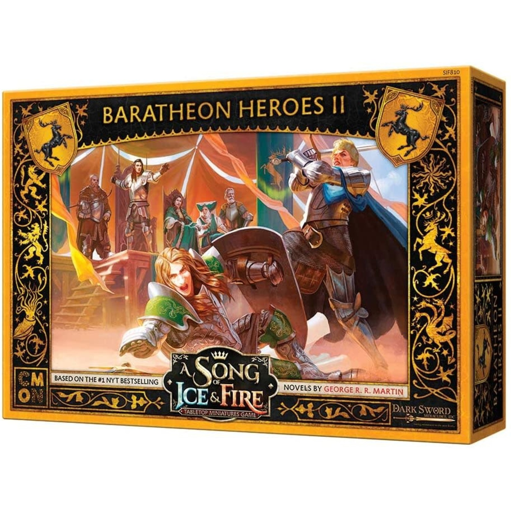 Asmodee A Song of Ice & Fire Baratheon Heroes II