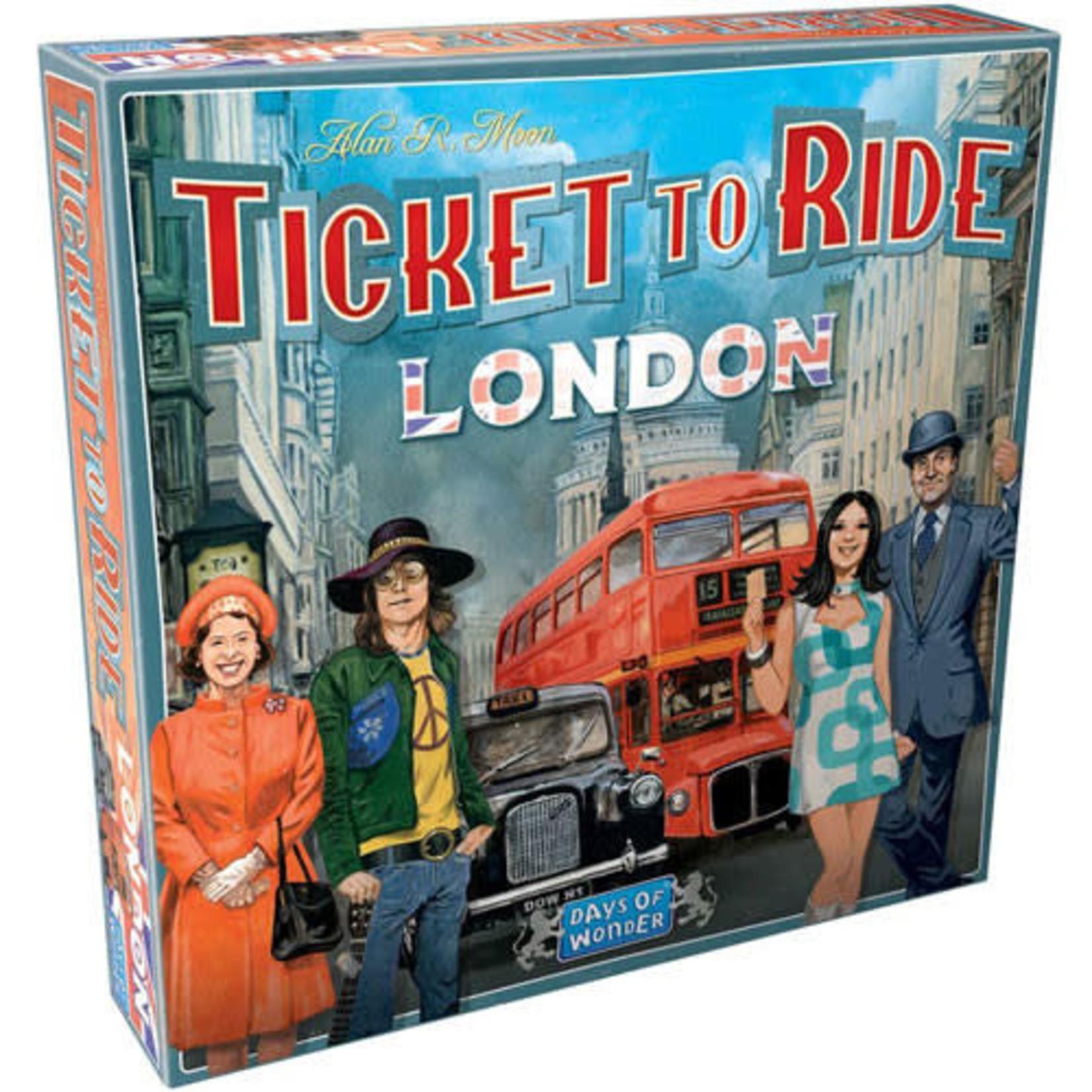 Asmodee Ticket to Ride London Board Game