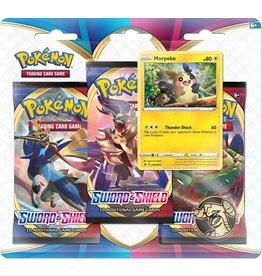Pokémon Pokemon Sword and Shield 3-Booster Blister