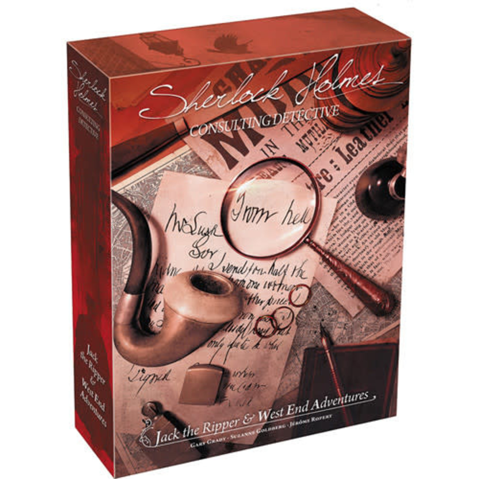 Sherlock Holmes: Jack the Ripper and West End Adventures Board Game