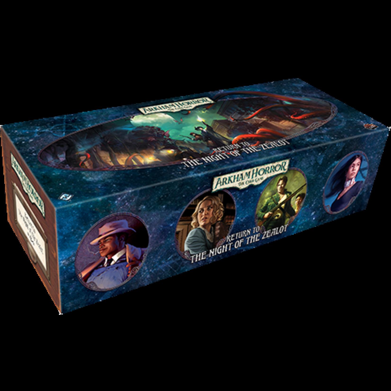 Arkham Horror LCG: Return to the Night Zealot Expansion