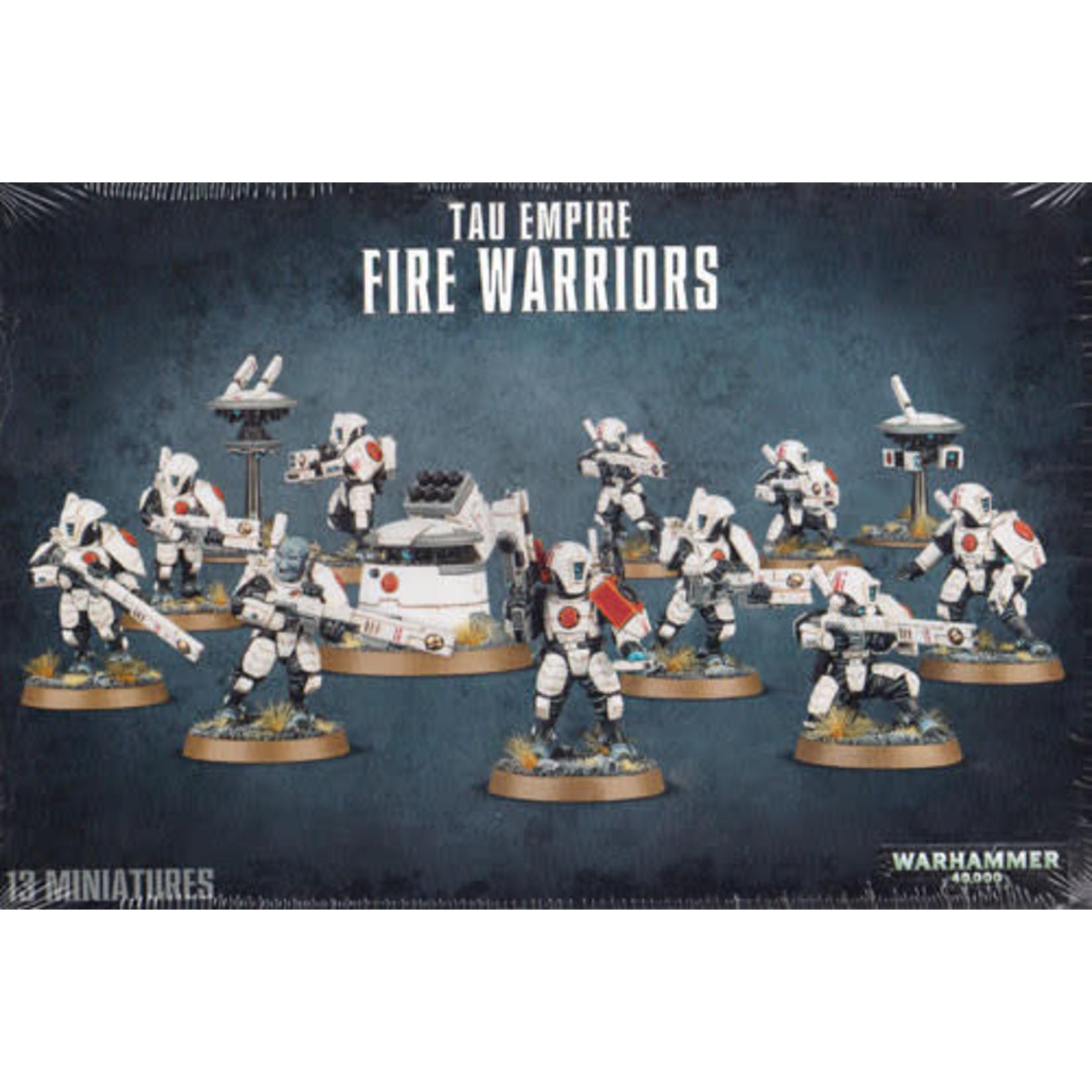 Tau Empire Fire Warriors (40K)