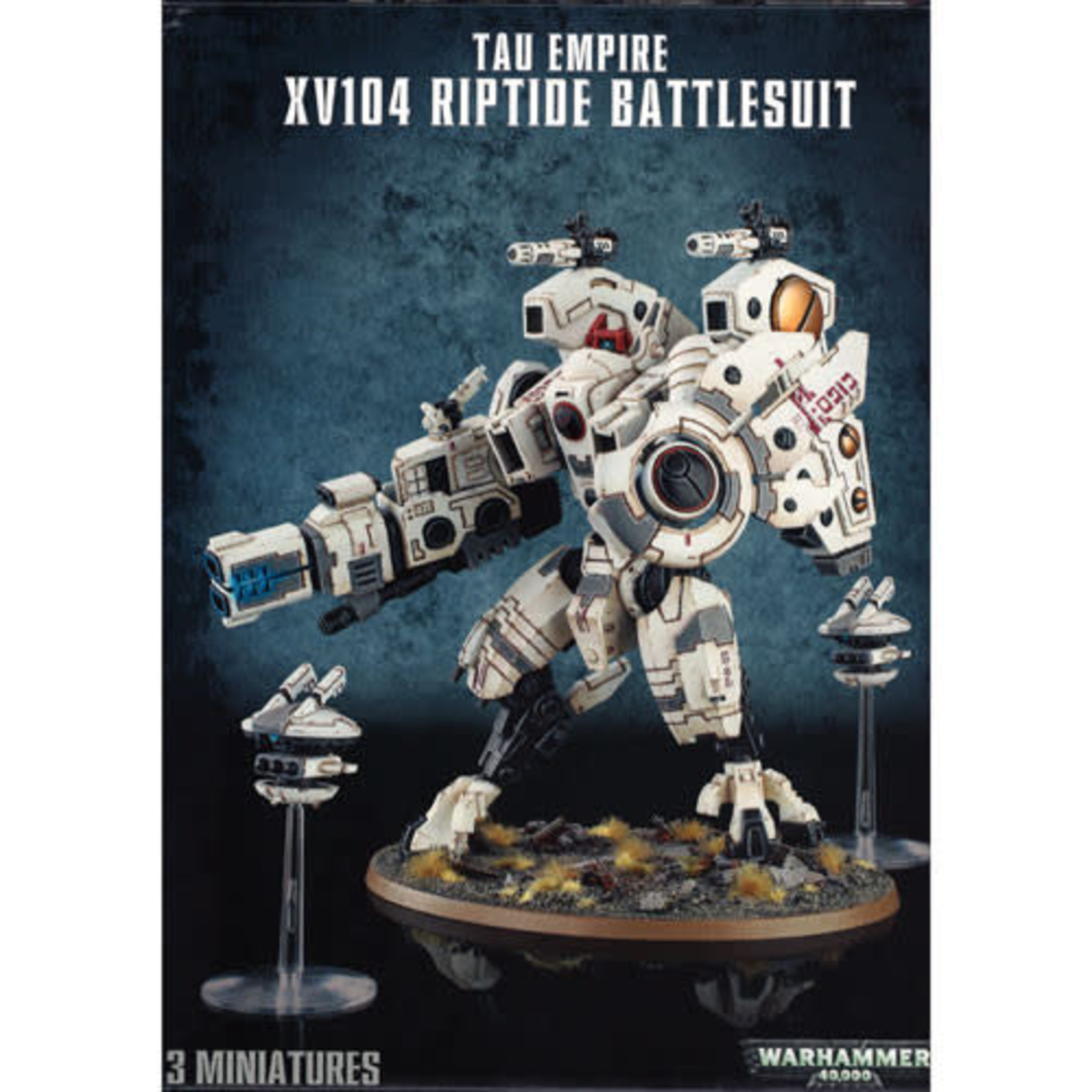 Tau Empire XV104 Riptide Battlesuit (40K)