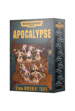 Apocalypse Movement Trays 25mm (40K)