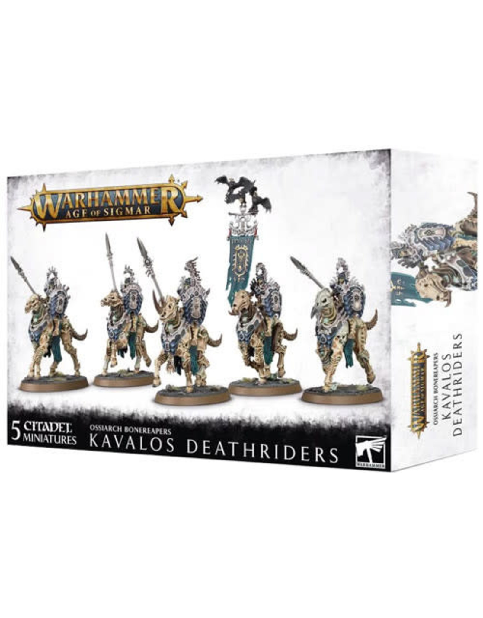 Ossiarch Bonereapers Kavalos Deathriders (AOS)