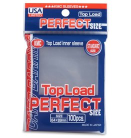KMC Perfect Fit Sleeves 100ct
