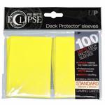 Ultra Pro Ultra Pro Eclipse Pro Matte Lemon Yellow 100ct