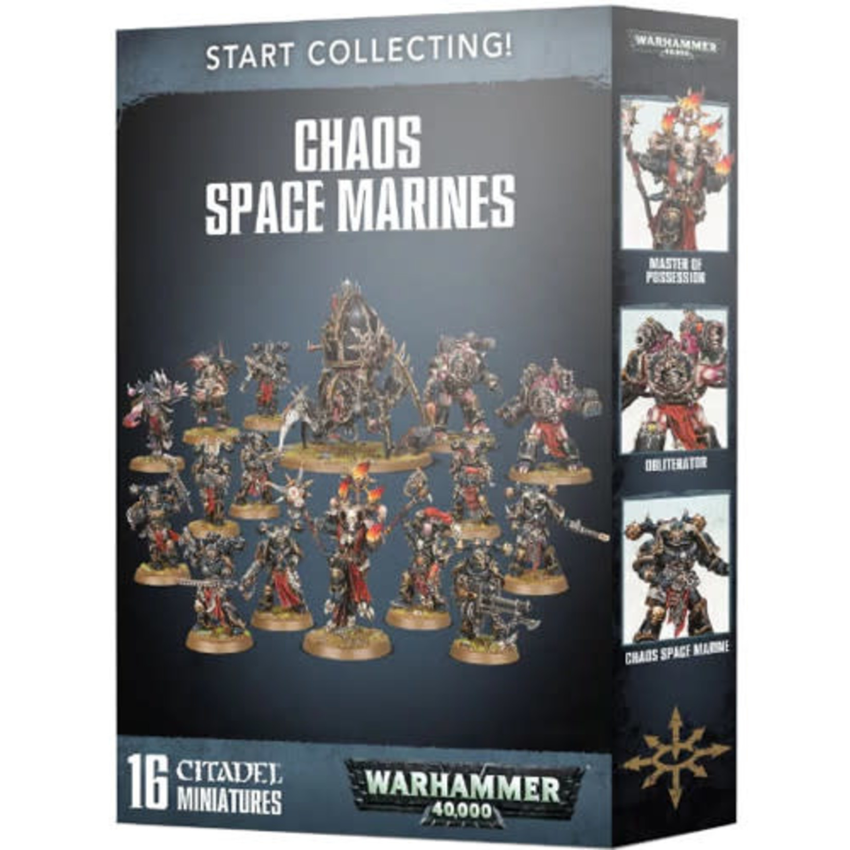 Games Workshop Start Collecting! Chaos Space Marines (40k)