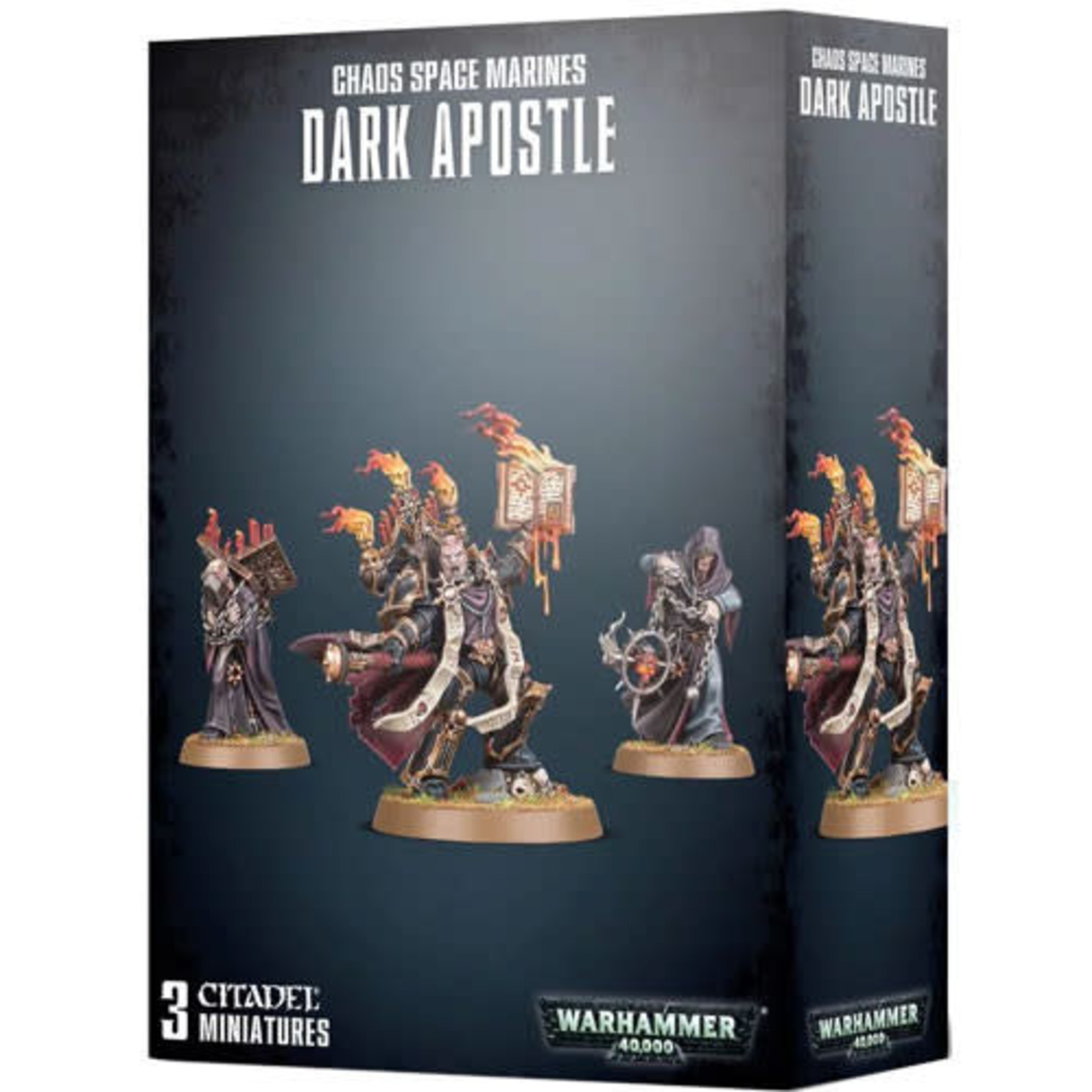 Games Workshop Choas Space Marine Dark Apostle (40K)