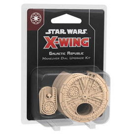 Star Wars X-Wing 2e: Galactic Republic Maneuver Dial Upgrade Kit