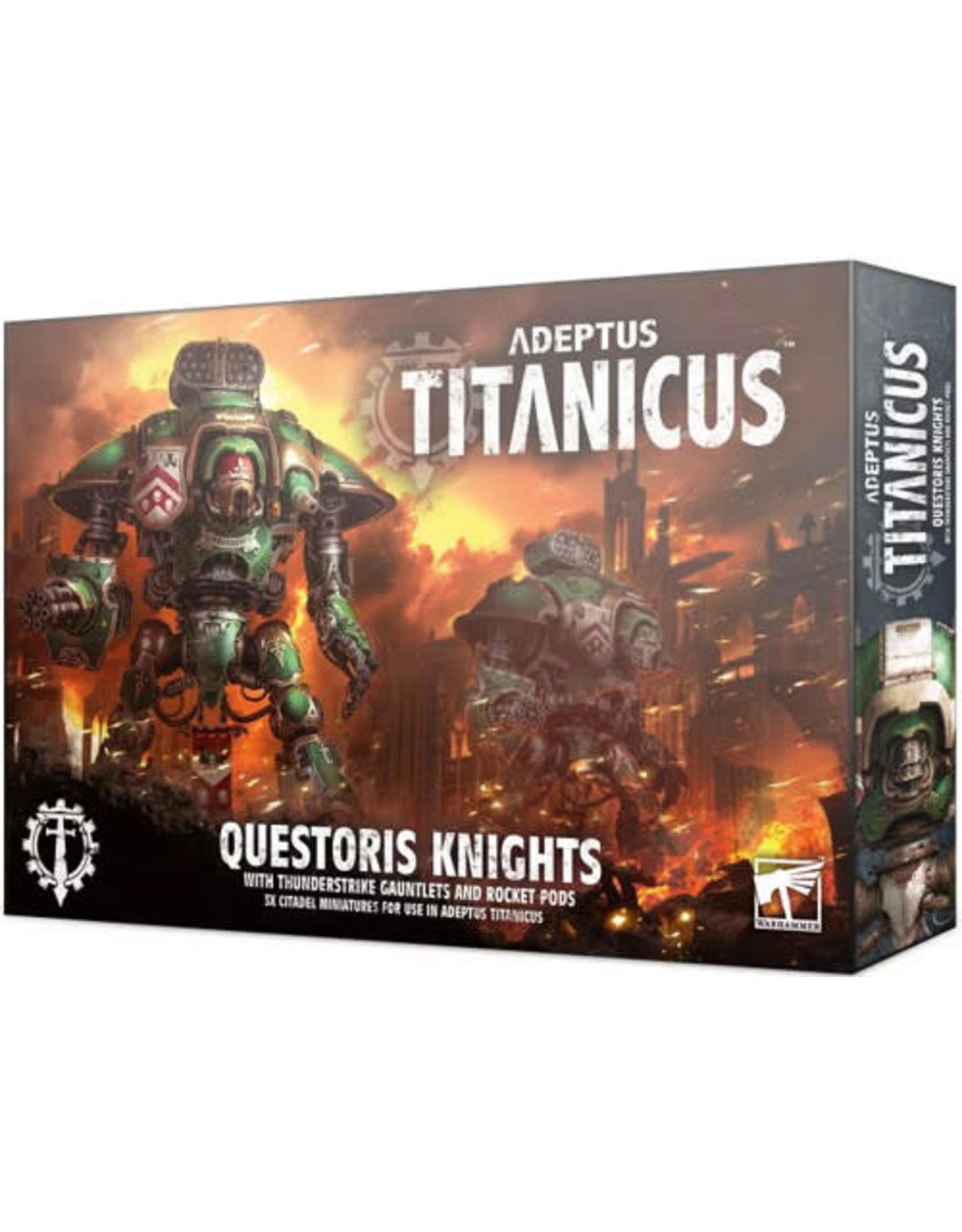 Games Workshop Adeptus Titanicus Questoris Knights