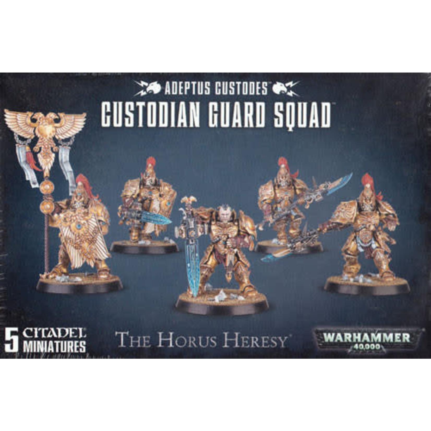 Adeptus Custodes Custodian Guard Squad (40K)