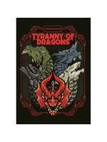 Wizards of the Coast D&D 5e Tyranny of Dragons (Alt Cover)