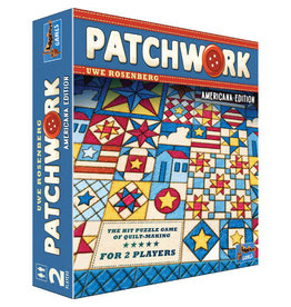 Asmodee Patchwork Americana Edition - Preorder