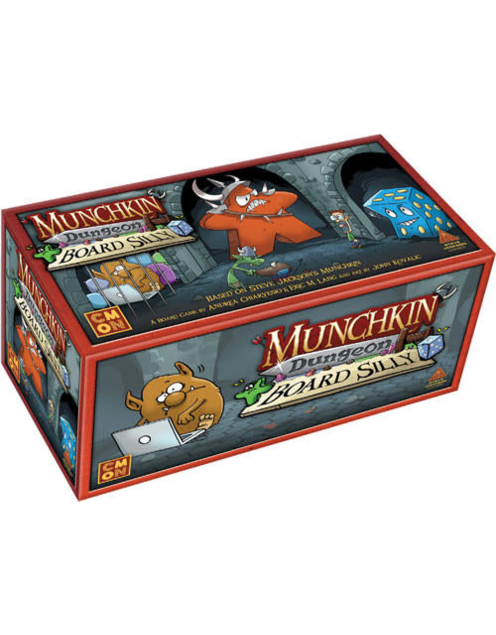 CMON Munchkin Dungeon Board Silly Expansion