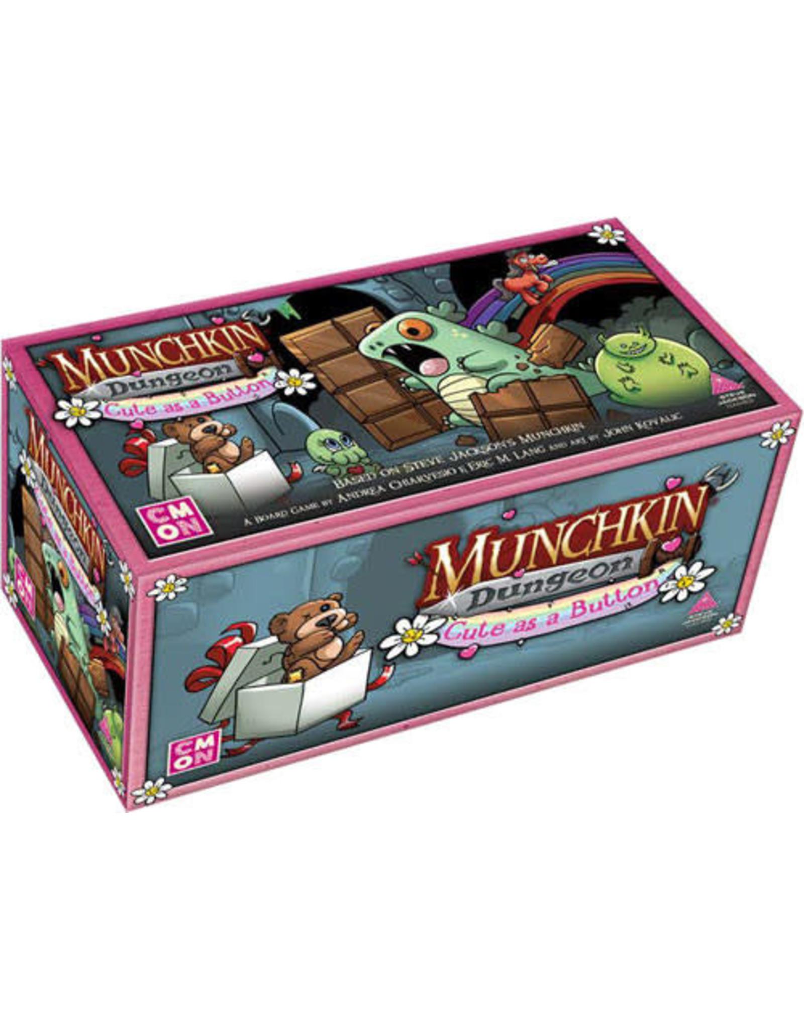 CMON Munchkin Dungeon Cute as a button Expansion