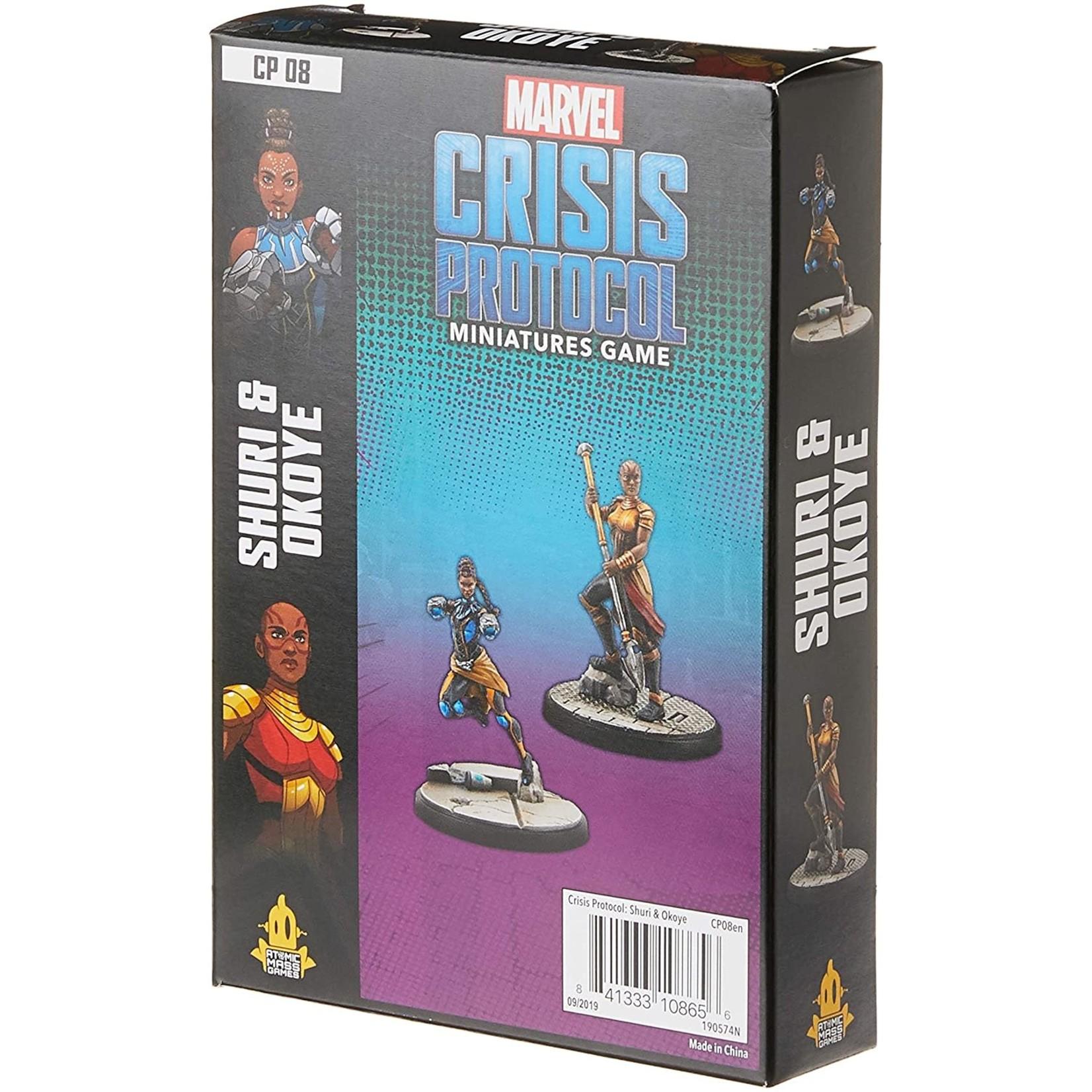 Marvel Crisis Protocol - Shuri and Okoye Character Pack