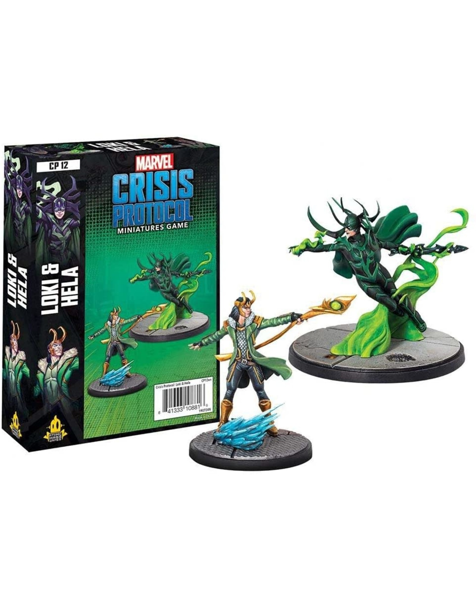 Marvel Crisis Protocol - Loki and Hela Character Pack