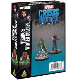 Marvel Crisis Protocol - Vision and Winter Soldier Character Pack