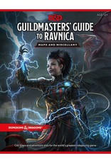 Wizards of the Coast D&D 5e Guildmaster's Guide to Ravnica Maps and Miscellany