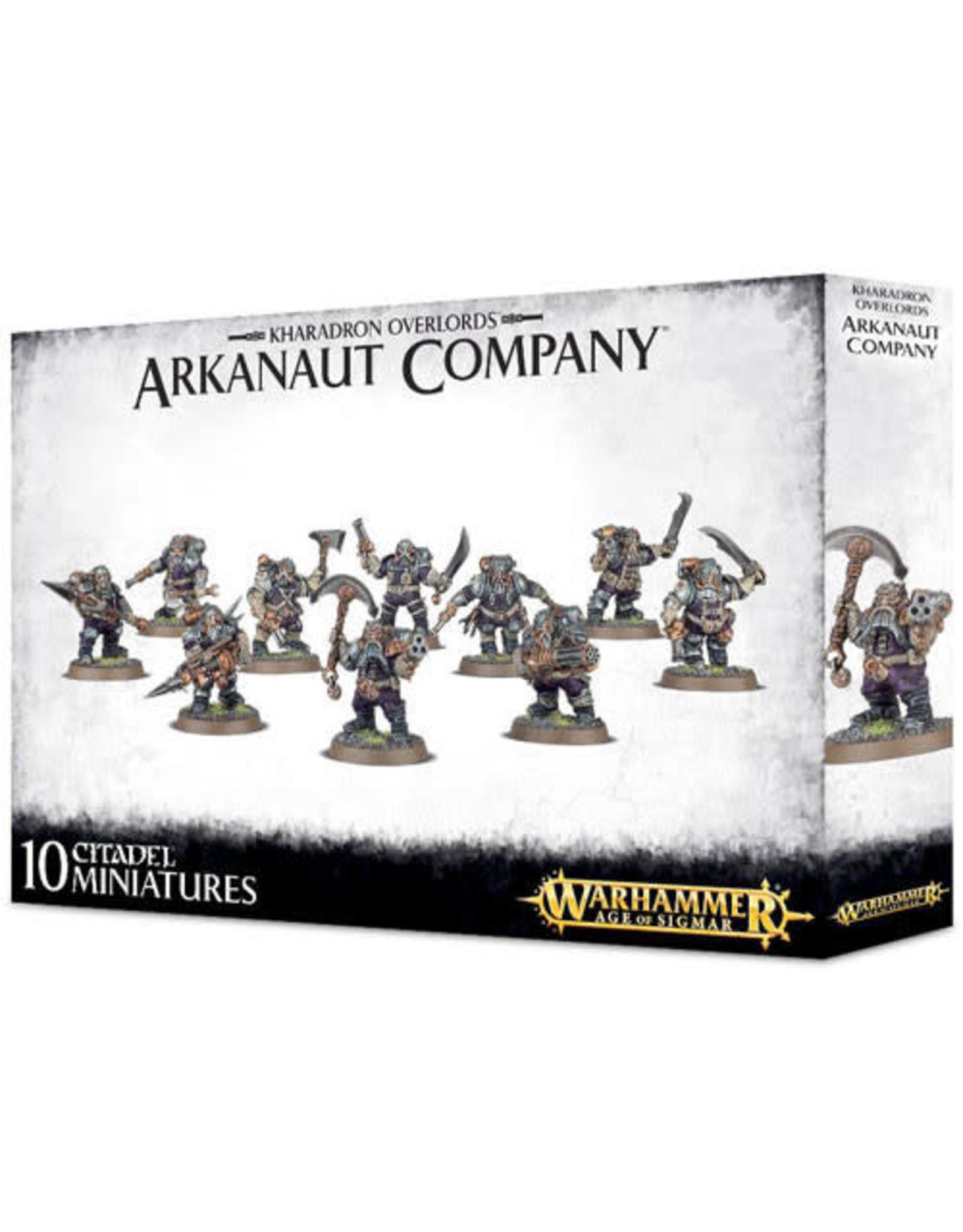 Kharadron Overlords Arkanaut Company (AOS)