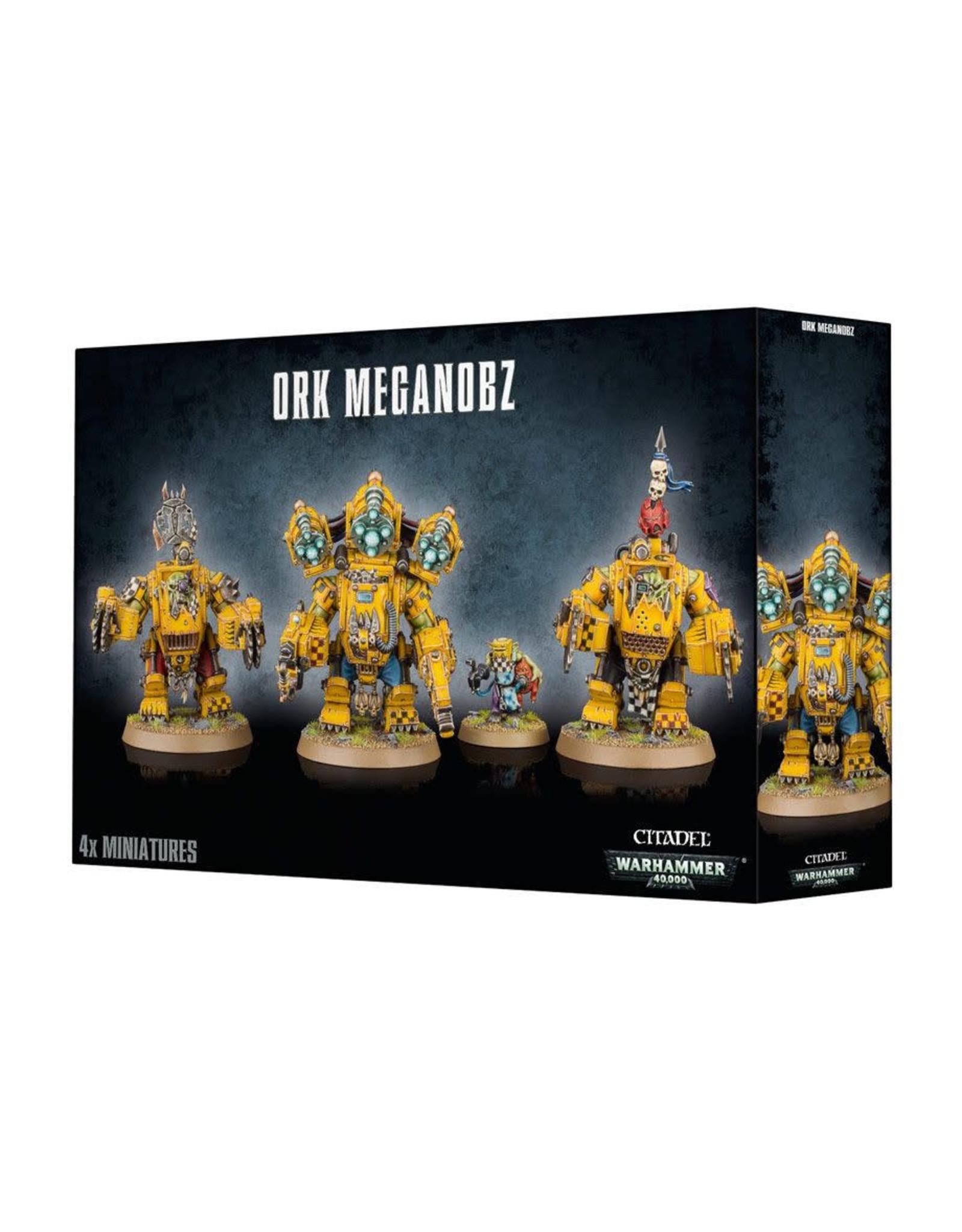 Ork MegaNobz (40K)