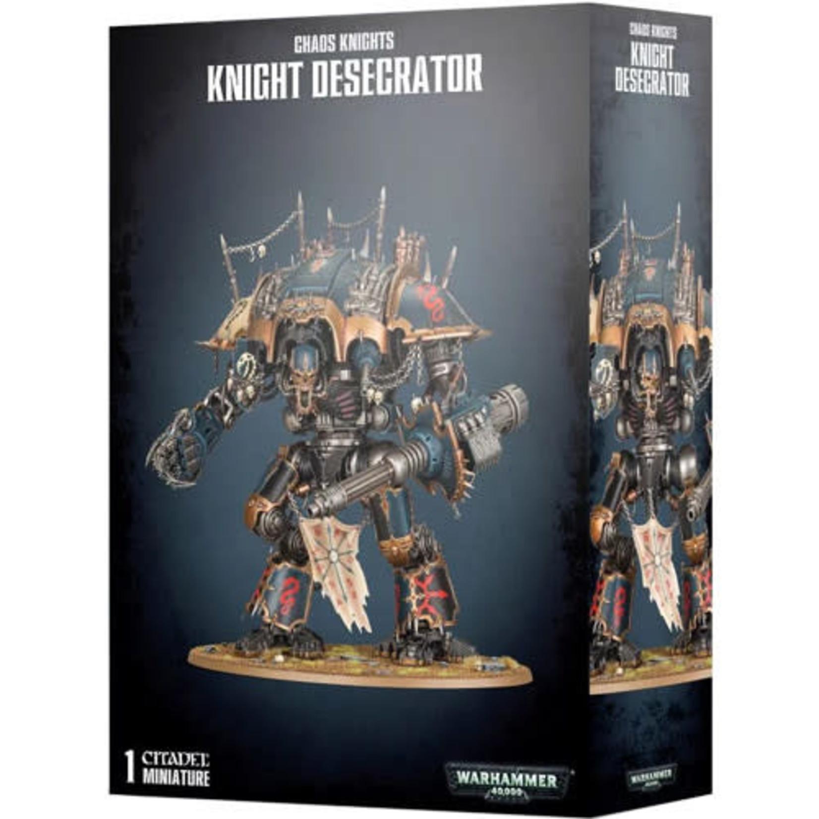 Chaos Knight Desecrator (40K)