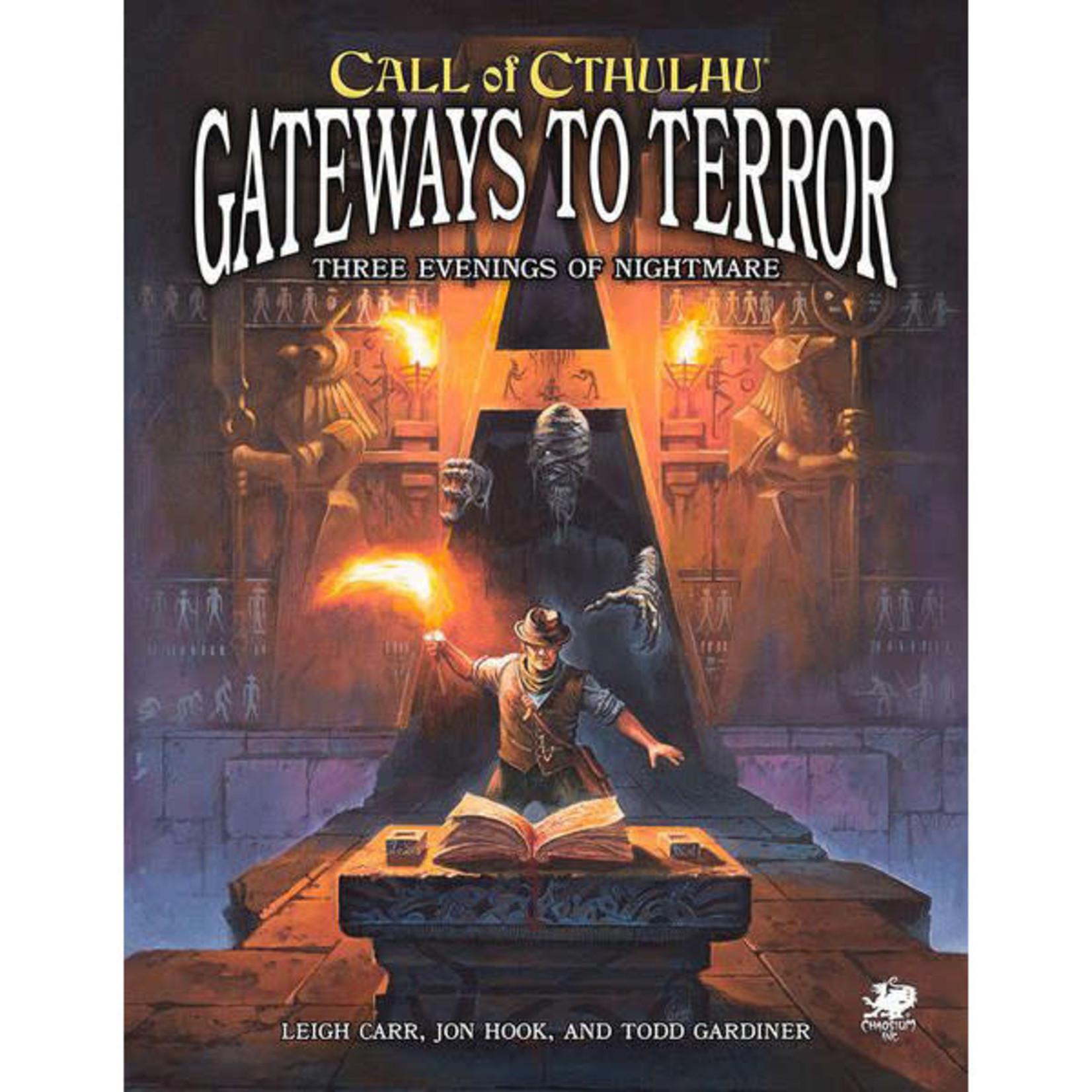 Call of Cthulhu RPG 7E Gateway to Terror