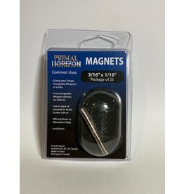 """Magnets 3/16"""" x 1/16"""" 25ct (PHZ)"""