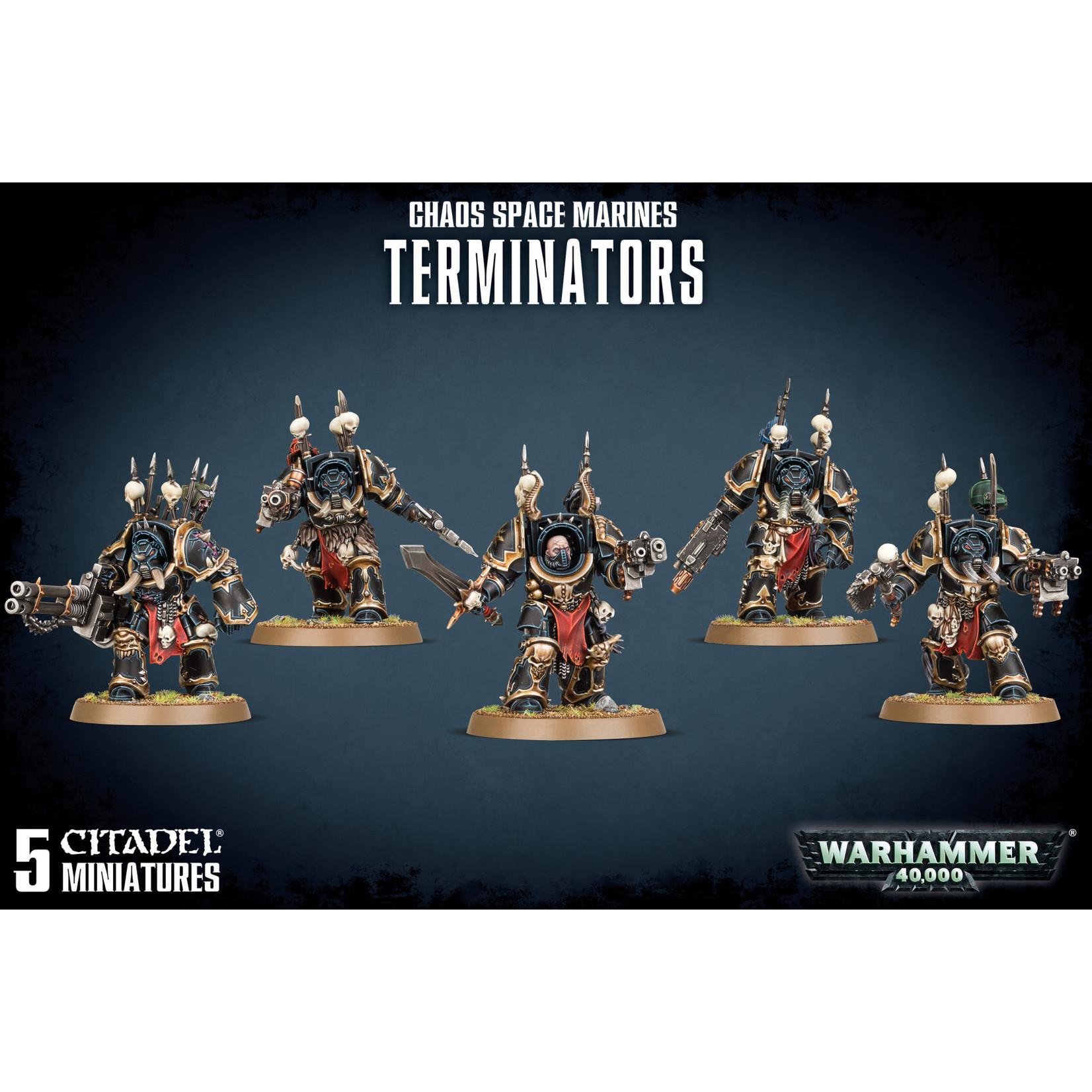 Chaos Space Marine Terminators (40K)