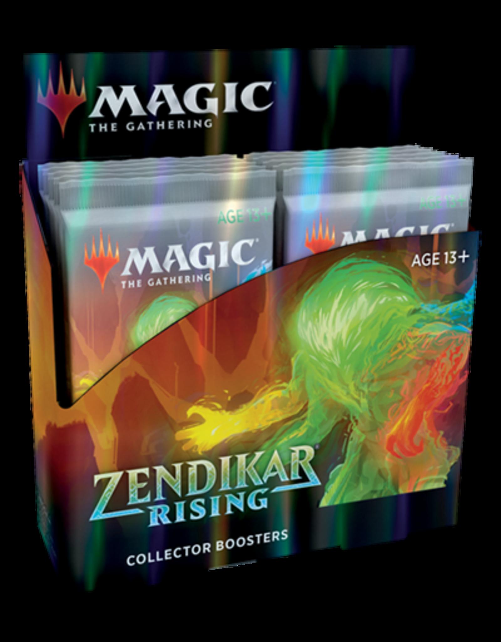 Wizards of the Coast Zendikar Rising Collectors Booster Box