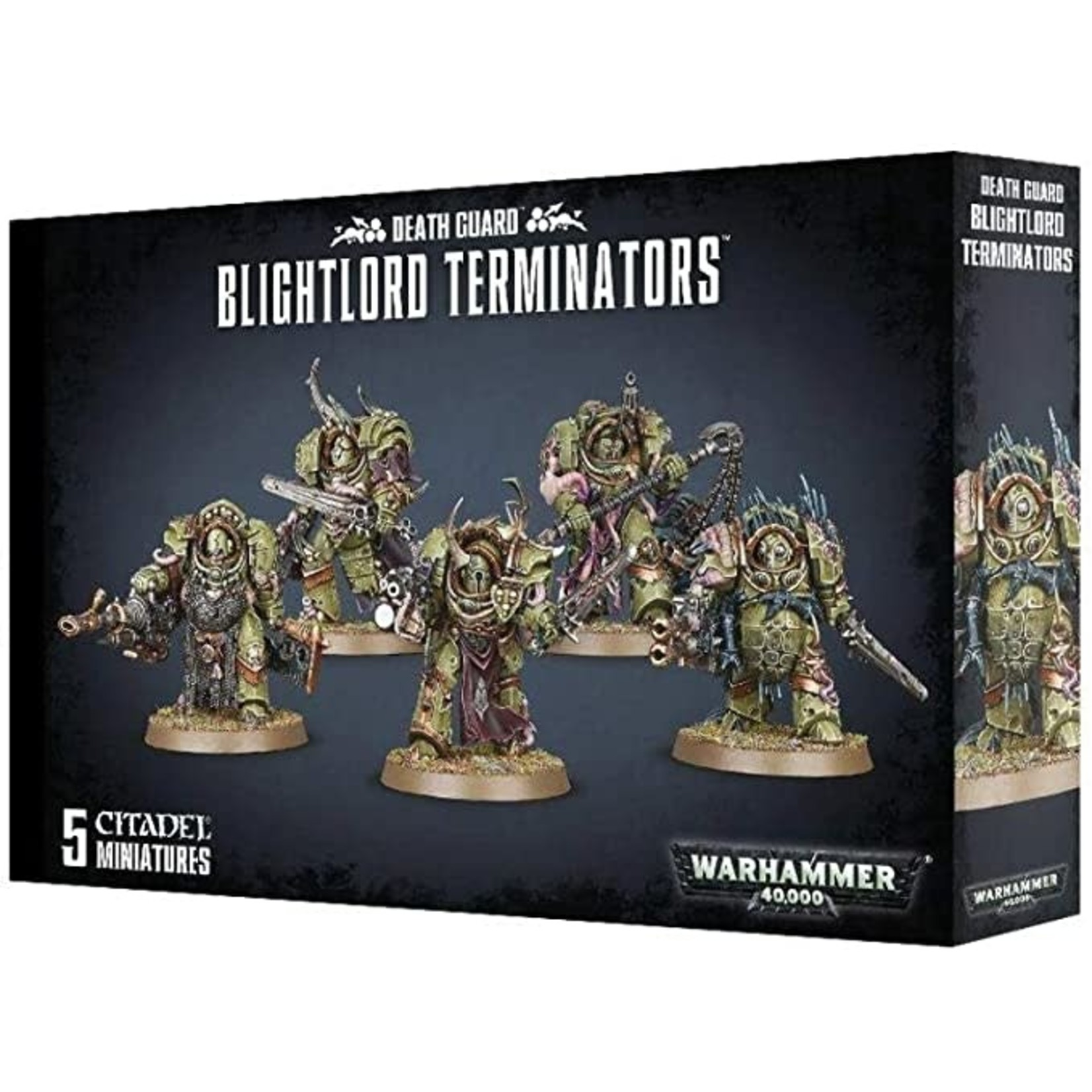 Death Guard Blightlord Terminators (40K)