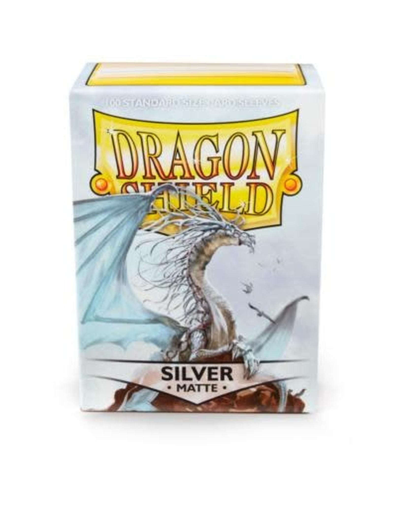 Dragon Shield Dragon Shield Matte Silver 100ct