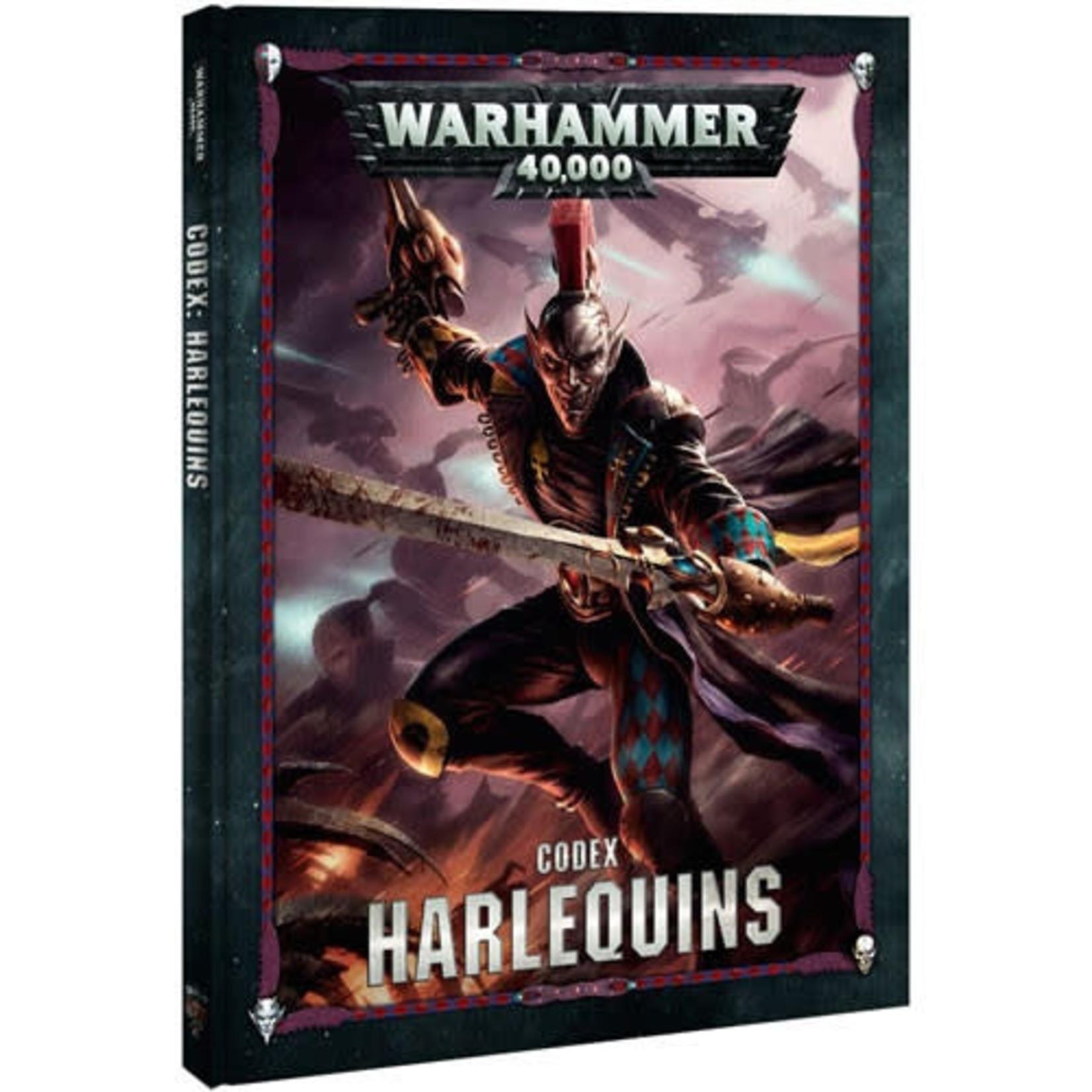 Harlequins Codex 8th (40K)